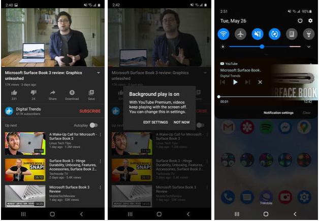 YouTube Premium (Android, iOS)