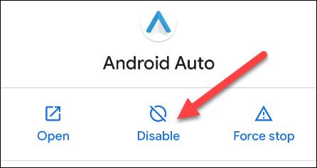 Android Uygulamalarını Devre Dışı Bırak