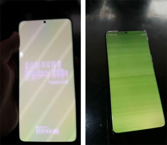 Samsung Galaxy S20 Cihazlarda Yeşil Ekran Sorunu Devam Ediyor