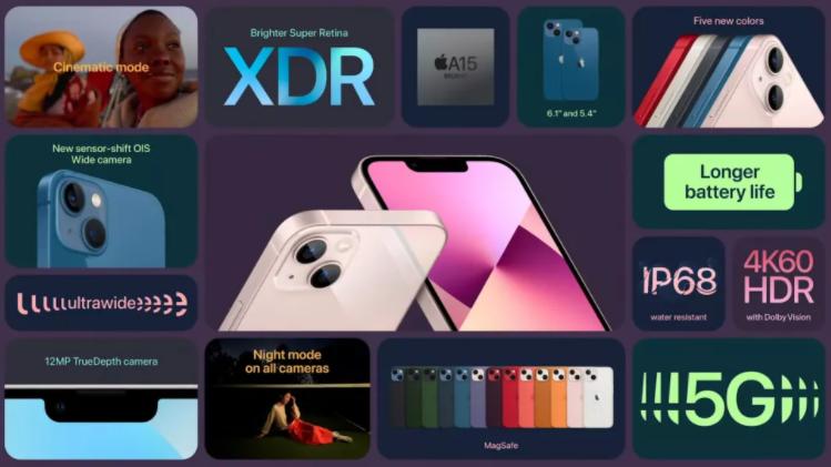 iPhone 13 ve iPhone 13 mini: En iyi yeni özellikler